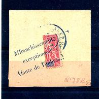 Col.fr. -madagascar -n°78B- Demi-timbre Sur Fragment - Gebraucht
