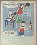Protège Cahier NEGRITA Maman L'a Bien Dit: Il N'y A Pas De Fumée Sans Feu .. Ni De Bons Gâteaux Sans Rhum NEGRITA - Liquor & Beer