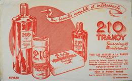 BUVARD ANCIEN - 210 TRANOY - Bon Etat - Parfums & Beauté