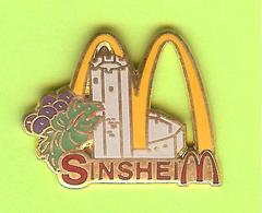 Pin's Mac Do McDonald's Sinsheim - 4J10 - McDonald's