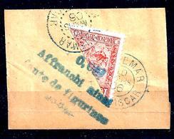 Col.fr. -madagascar -n°93- Demi-timbre Sur Fragment - Côte: 53€ - Usati