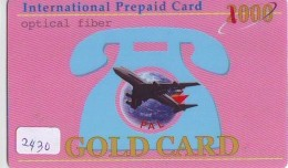 Télécarte  International * PHILIPPINE AIRLINES  (2430)  AVIATION * AIRLINE Phonecard   AIRPLANE * FLUGZEUG - Avions