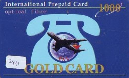 Télécarte  International * PHILIPPINE AIRLINES  (2431)  AVIATION * AIRLINE Phonecard   AIRPLANE * FLUGZEUG - Avions
