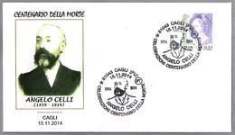 Medico ANGELO CELLI - Lucha Contra La MALARIA - Fight Against Malaria. Cagli, Pesao Y Urbino, 2014 - Medicina
