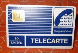 TELECARTE 50 UNITES TELECOMMUNICATIONS - 50 Unità