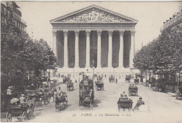 Postcard - Paris - La Madeleine - Posted 30-05-1907 - VG - Unclassified