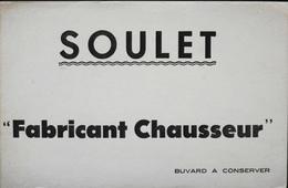 BUVARD ANCIEN - SOULET Fabricant Chausseur - Très Bon Etat - Shoes