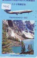 Télécarte  JAPON * CANADIAN AIRLINES  (2435)  AVIATION * AIRLINE Phonecard  JAPAN AIRPLANE * FLUGZEUG - Avions