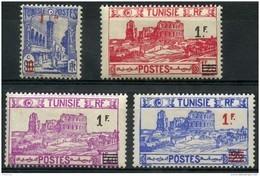 Tunisie (1940) N 223 à 226 * (charniere) - Tunisie (1888-1955)
