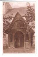 South Benfleet Church Porch Essex RP Postcard Raphael Tuck Unused - England