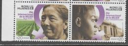 URUGUAY, 2018, MNH, INTERNATIONAL WOMEN'S DAY,2v - Stamps