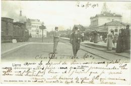 Lier/Lierre. Station/Gare. - Lier