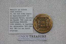 NR Médaille BRONZE 23,25g - 1882: 50 Ans Du Mercator  *SUP* - Medaillen