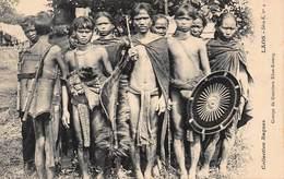 CPA LAOS - Groupe De Guerriers Khas-Kaseng - Laos