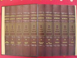 La Nouvelle Universelle Bordas. Maquette De Représentant. Encyclopédie, Publicité. Sd Vers 1980 - Dictionnaires