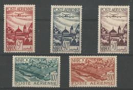 Vues Yt 60-64* - Marocco (1891-1956)