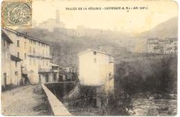 D06 . CPA . LANTOSQUE . Entree Du Village  . - Lantosque