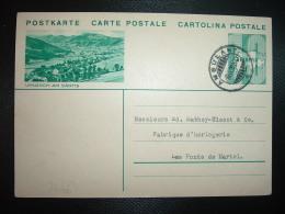CP EP 10 URNASCH AM SANTIS OBL.8 VIII 35 AMBULANT - Svizzera
