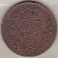 REGNO DI SARDEGNA . 5 CENTESIMI 1826 (P) TORINO (Aquila) .CARLO FELICE - Piamonte-Sardaigne-Savoie Italiana