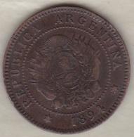 ARGENTINE / TUCUMAN . UN CENTAVO 1894. BRONZE - Argentinië