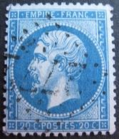 R1494/226 - NAPOLEON III N°22 - GC 2772 : PALAISEAU (Seine Et Oise) INDICE 4 - 1862 Napoleon III