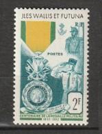 WALLIS Et FUTUNA - N°156 ** (1952) Médaille Militaire - Unused Stamps