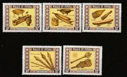 WALLIS Et FUTUNA - N°198/202 ** (1977) Artisanat - Wallis-Et-Futuna