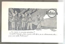 Buvard Fulmen La Pile Fulmen La Plus Durable Le Petit Poucet Illustré Par Alain Saintogan - Piles