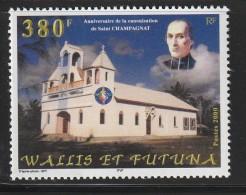 WALLIS Et FUTUNA - N°542 ** (2000) Eglise - Ungebraucht