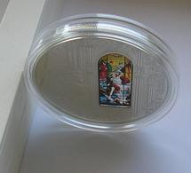 Cook Islands 10 Dollars 2013 Milan Windows Of Heaven Silver Coin - Monnaies