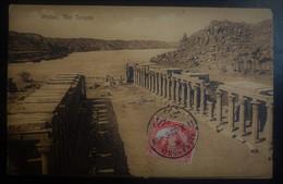CPA - Assouan - Phylae - Le Temple D'Isis Et Le Nil - Aswan