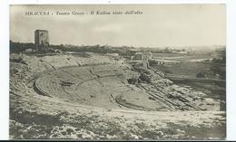 Italy Siracusa Postcard Unused Rp Teatro Greco Unused - Siracusa