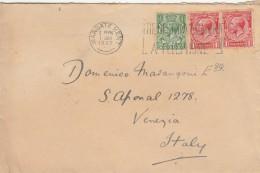 LETTERA 1932 DA REGNO UNITO DIRETTA VENEZIA -TIMBRO MARGARET KENT-VENEZIA (Z700 - 1902-1951 (Kings)