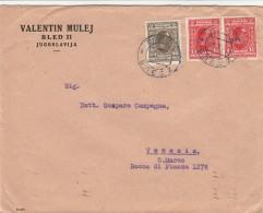 LETTERA ANNI 30 DA JUGOSLAVIA PER ITALIA TIMBRO ARRIVO VENEZIA (Z745 - 1931-1941 Kingdom Of Yugoslavia