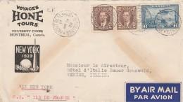 LETTERA 1939 DA CANADA PER ITALIA TIMBRO MONTREAL-VENEZIA (Z755 - 1937-1952 Règne De George VI