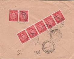 RACCOMANDATA 1931 DA REGNO SERBIA CROAZIA PER ITALIA TIMBRO ARRIVO VENEZIA TRIESTE (Z776 - Used Stamps