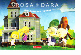 OROSA & DARA Leur Fabuleux Voyage, Folimage Ed. La Poudrière 2015 - Affiches Sur Carte