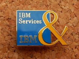 Pin's - INFORMATIQUE - IBM SERVICES - Computers