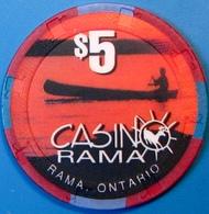 $5 Casino Chip. Casinorama, Ontario, Canada. M79. - Casino
