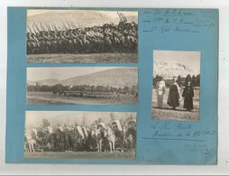 DAMAS (SYRIE) 1940. 6 PHOTOS TROUPES FRANCAISES .LEGION 1 ET 6 EME R E I. 17 E REGT TIRAILLEURS SENEGALAIS . 1ER SPAHI . - Guerre, Militaire