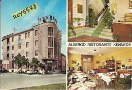 Emilia Romagna-rimini Via Clementini Albergo Ristorante Kennedy Vedute Esterno Ed Interno Hotel (vedi Retro) - Rimini