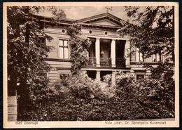 B6614 - Bad Obernigk - Oborniki Śląskie - Villa IDA Dr. Sprengel Kuranstalt - Ewald W. Krause M. Riediger - Schlesien