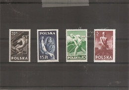 Pologne ( 504/507 XXX -MNH) - 1944-.... République
