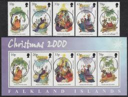 FALKLAND ISLANDS  Michel 798/02, BLOCK 25  Very Fine Used - Falkland