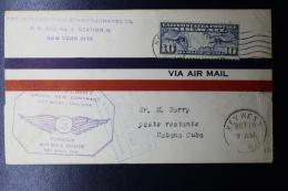 USA  First Flight Under Contract Key West - Havana Cuba  Oct 19 1927 - Etats-Unis