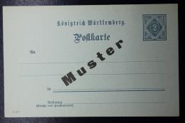 Württemberg  Postkarte DP3  MUNSTER - Wurtemberg