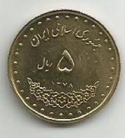 5 Rial 1999. High Grade - Iran