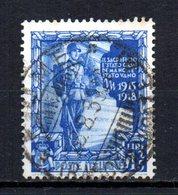 ITALIA 1938 CANCELLED - 1900-44 Vittorio Emanuele III