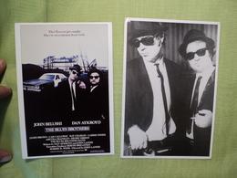 PAIRE DE CPSM BLUES BROTHERS - Cartes Postales