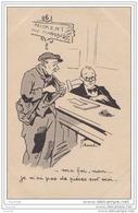 Illustrateur Cheval - Paiement Des Mandats Ma Foi, Non... Je N'ai Pas De Pièces Sur Moi... (poste) - Cheval